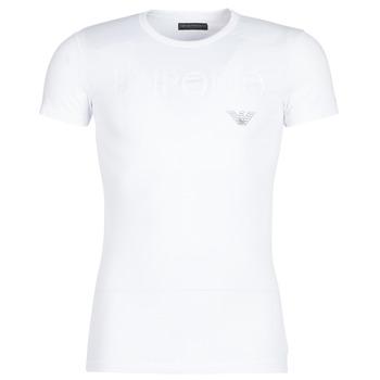Υφασμάτινα Άνδρας T-shirt με κοντά μανίκια Emporio Armani CC716-111035-00010 Άσπρο