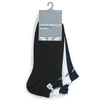 Αξεσουάρ Άνδρας Κάλτσες Emporio Armani CC134-300008-00997 Άσπρο / Black / Marine