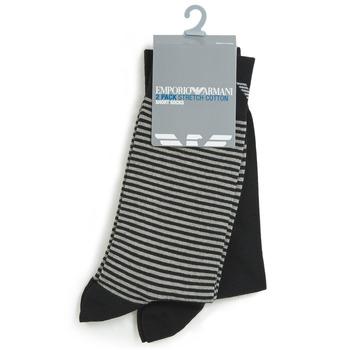 Αξεσουάρ Άνδρας Κάλτσες Emporio Armani CC114-302302-00020 Black