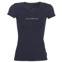 Υφασμάτινα Γυναίκα T-shirt με κοντά μανίκια Emporio Armani CC317-163321-00135 Marine