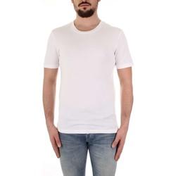 Υφασμάτινα Άνδρας T-shirt με κοντά μανίκια Selected 16057141 Bianco