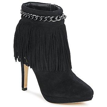 Παπούτσια Γυναίκα Μποτίνια Bourne SANDY Black