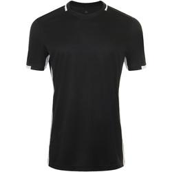 Υφασμάτινα Άνδρας T-shirt με κοντά μανίκια Sols CLASSICO SPORT Negro