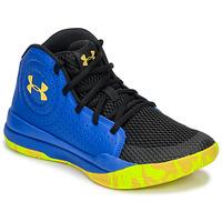 Παπούτσια Παιδί Basketball Under Armour GS JET 2019 Μπλέ / Yellow