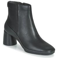 Παπούτσια Γυναίκα Μποτίνια Camper UP RIGHT Black