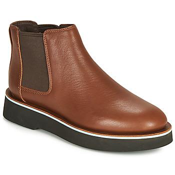 Παπούτσια Γυναίκα Μπότες Camper TYRA chelsea Medium / Καφέ