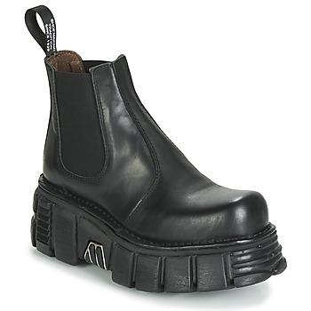 Παπούτσια Γυναίκα Μπότες New Rock M-1554-C1 Black