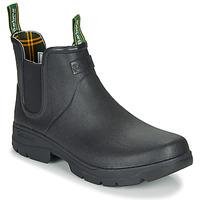 Παπούτσια Άνδρας Μπότες βροχής Barbour FURY CHELSEA Black