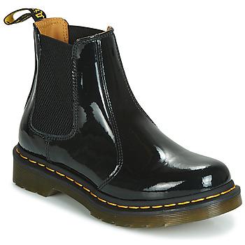 Παπούτσια Γυναίκα Μπότες Dr Martens 2976 PATENT LAMPER Black