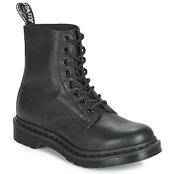 Παπούτσια Γυναίκα Μπότες Dr Martens 1460 PASCAL MONO Black