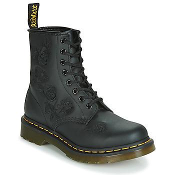 Παπούτσια Γυναίκα Μπότες Dr Martens 1460 VONDA MONO SOFTY T Black
