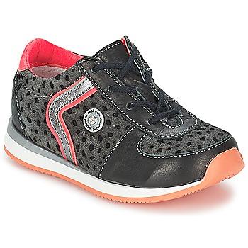 Παπούτσια Κορίτσι Μπότες Catimini CISTUDE Ctv / ΜΑΥΡΟ-ΦΟΥΞΙΑ / Dpf / 2637