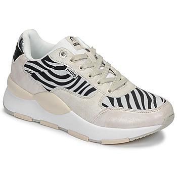 Παπούτσια Γυναίκα Χαμηλά Sneakers MTNG 69867-C47433 Black / Άσπρο