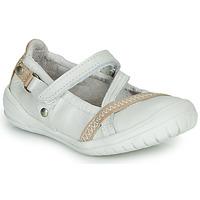 Παπούτσια Κορίτσι Μπαλαρίνες Ramdam BEZIERS Άσπρο