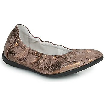 Παπούτσια Κορίτσι Μπαλαρίνες Ramdam LIBRE Bronze