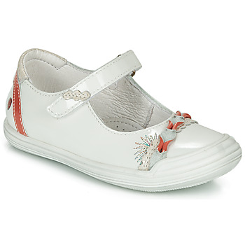 Παπούτσια Κορίτσι Μπαλαρίνες GBB MARION Άσπρο