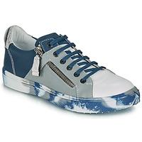 Παπούτσια Αγόρι Χαμηλά Sneakers Ikks BRANDON Μπλέ / Grey