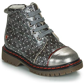 Παπούτσια Κορίτσι Μπότες GBB NEVA Grey / Μεταλικό