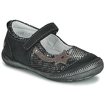 Παπούτσια Κορίτσι Μπαλαρίνες GBB NYOKO Black / Silver