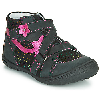 Παπούτσια Κορίτσι Μπότες GBB NINA Black / Ροζ