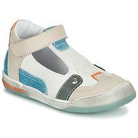 Παπούτσια Αγόρι Σανδάλια / Πέδιλα GBB PERCEVAL Άσπρο / Beige / Μπλέ