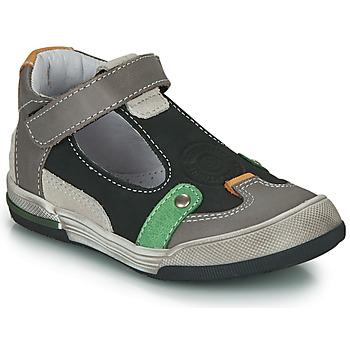 Παπούτσια Αγόρι Σανδάλια / Πέδιλα GBB PERCEVAL Black / Grey