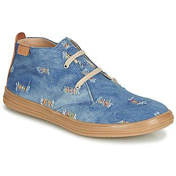 Παπούτσια Κορίτσι Ψηλά Sneakers Achile ANDREA Μπλέ