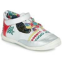 Παπούτσια Κορίτσι Μπαλαρίνες Catimini PANTHERE Άσπρο / Multicolour