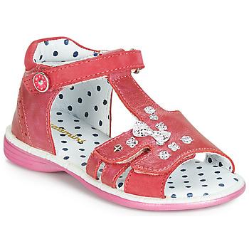 Παπούτσια Κορίτσι Σανδάλια / Πέδιλα Catimini PUCE Ροζ