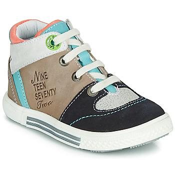 Ψηλά Sneakers Catimini PIMENT ΣΤΕΛΕΧΟΣ: Δέρμα και συνθετικό & ΕΠΕΝΔΥΣΗ: Δέρμα & ΕΣ. ΣΟΛΑ: Δέρμα & ΕΞ. ΣΟΛΑ: Καουτσούκ
