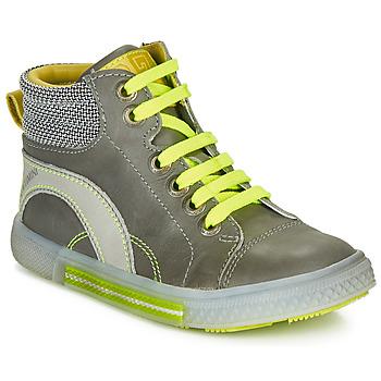 Ψηλά Sneakers Catimini PAPYRUS ΣΤΕΛΕΧΟΣ: Δέρμα και συνθετικό & ΕΠΕΝΔΥΣΗ: Δέρμα & ΕΣ. ΣΟΛΑ: Δέρμα & ΕΞ. ΣΟΛΑ: Καουτσούκ
