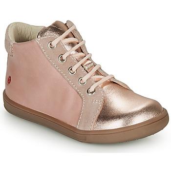 Παπούτσια Κορίτσι Ψηλά Sneakers GBB FAMIA Ροζ