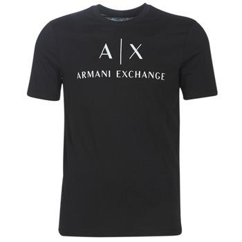 Υφασμάτινα Άνδρας T-shirt με κοντά μανίκια Armani Exchange 8NZTCJ-Z8H4Z-1200 Black