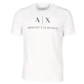 Υφασμάτινα Άνδρας T-shirt με κοντά μανίκια Armani Exchange 8NZTCJ-Z8H4Z-1100 Άσπρο