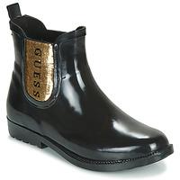Παπούτσια Γυναίκα Μπότες βροχής Guess REKHA3 Black / Gold