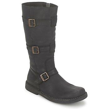 Παπούτσια Γυναίκα Μπότες για την πόλη Kickers LOCKNESS Black