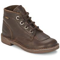 Παπούτσια Παιδί Μπότες Kickers KICK COL Καφέ