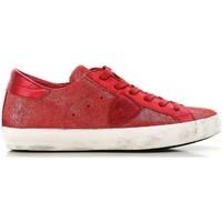 Παπούτσια Γυναίκα Χαμηλά Sneakers Philippe Model CLLD XM89 rosso