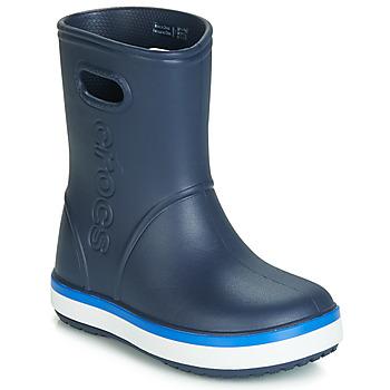 Παπούτσια Παιδί Μπότες βροχής Crocs CROCBAND RAIN BOOT K Marine
