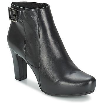 Παπούτσια Γυναίκα Χαμηλές Μπότες Unisa NAPUR Black