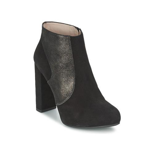Παπούτσια Γυναίκα Μποτίνια Unisa SAFIR Black