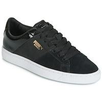Παπούτσια Γυναίκα Χαμηλά Sneakers Puma BASKET REMIX Black / Dore