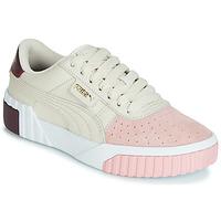 Παπούτσια Γυναίκα Χαμηλά Sneakers Puma CALI REMIX Άσπρο / Ροζ