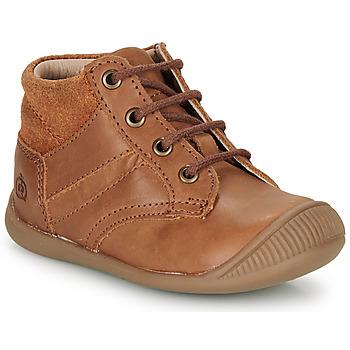 Παπούτσια Αγόρι Μπότες Citrouille et Compagnie RATON.C Vtc / Brown / Dtx / Raiza
