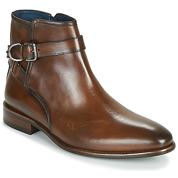 Παπούτσια Άνδρας Μπότες Brett & Sons ROBERTO Cognac