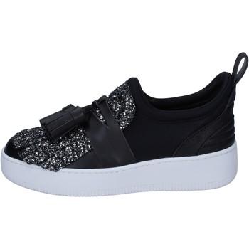 Παπούτσια Γυναίκα Slip on My Grey Mer BS626 Μαύρος