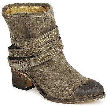Παπούτσια Γυναίκα Μποτίνια Atelier Voisin FEW DAIM Taupe