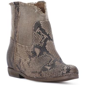 Παπούτσια Γυναίκα Μποτίνια Priv Lab PITONE ROCCIA Bianco