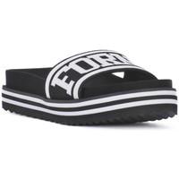 Παπούτσια Γυναίκα σαγιονάρες Fornarina BEACH 2 BLACK Nero