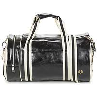 Τσάντες Άνδρας Αθλητικές τσάντες Fred Perry CLASSIC BARREL BAG Black